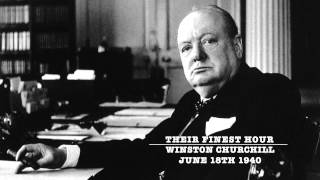 Winston Churchill - Their Finest Hour Speech - Complete