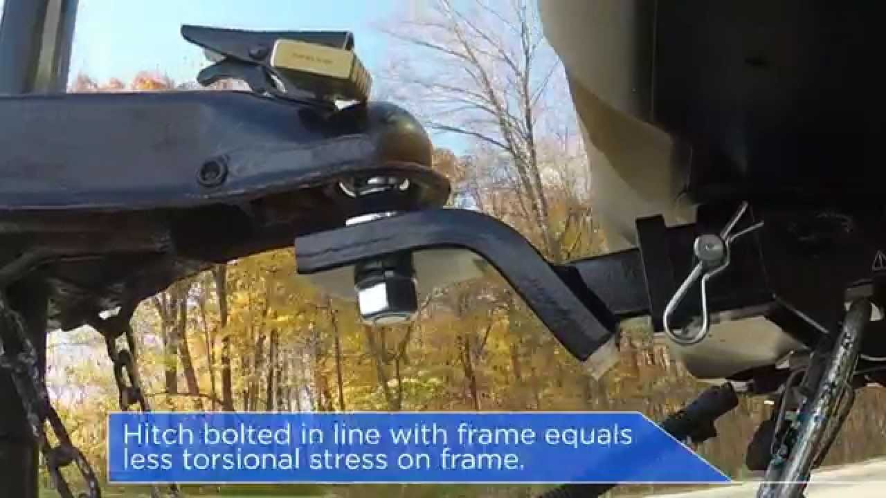 the subaru difference trailer hitch assembly youtube