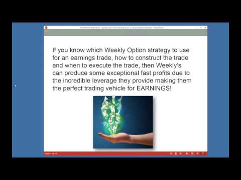 How To Profit From Earnings Season by Larry Gaines   Real Traders Webinar