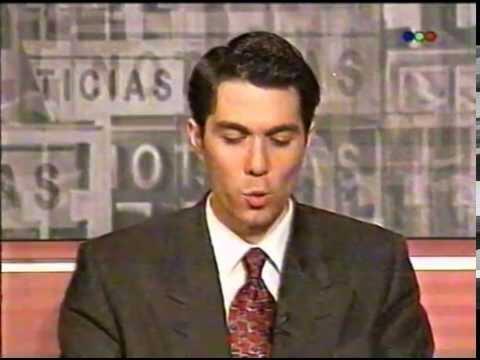 Rodolfo Barili En Telefe Noticias Flash Años 90 Youtube