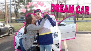 SURPRISING MY GIRLFRIEND WITH HER DREAM CAR! *EMOTIONAL*