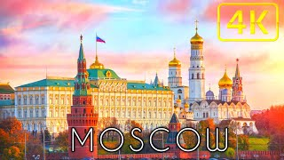 Moscow 4K  | MOSCOW 4K ULTRA HD HDR | MOSCOW 4K DRONE FOOTAGE | ASM