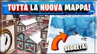 TUTTA LA NUOVA MAPPA SEASON 7 FORTNITE! + LUOGHI SEGRETI!