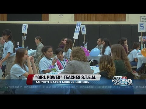 Girl Power teaches S.T.E.M. at Amphitheater Middle School