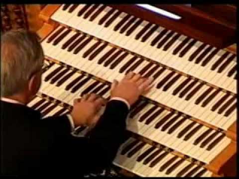 Изумительно красивая игра на электронном органе