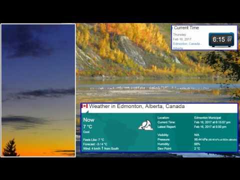 mboulay54 Live Stream Edmonton Sunset