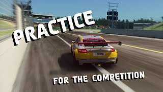 PRACTICE FOR THE COMPETITION | Assetto Corsa | Audi TT Cup @ Hockencheim GP