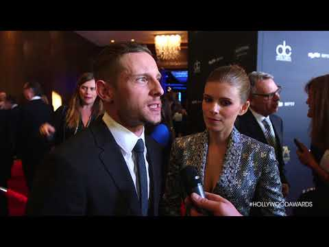 Jamie Bell and Kate Mara   HFA 2017