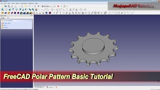 FreeCAD Polar Pattern | Basic Tutorial