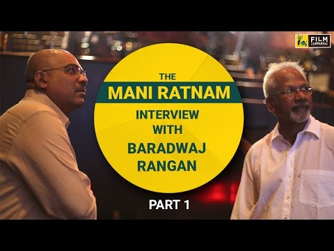 The Mani Ratnam Interview (Part 1) | Face Time