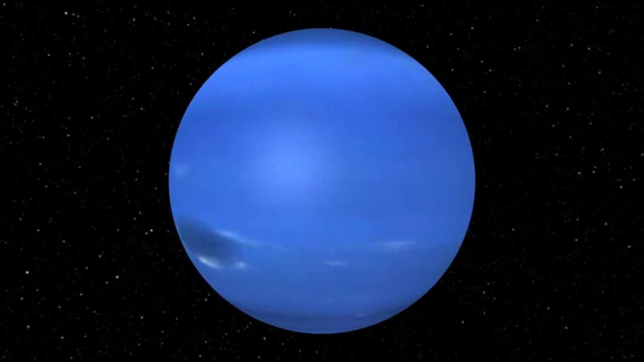 Rotation de la planète Neptune - YouTube