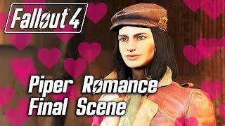 Fallout 4 - Piper Romance - Final Scene