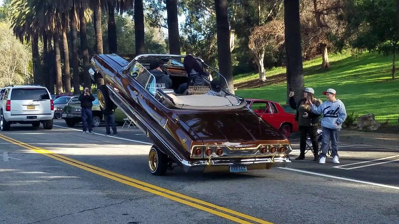 Lowriders Crusing At Elysian Park In LA YouTube - Elysian park car show 2018