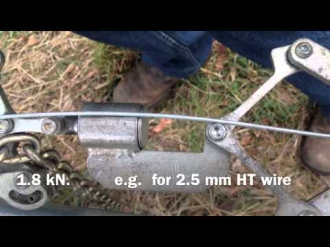 Wire Strainers With Built In Gauge - YouTube