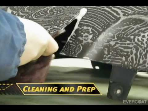 Reparación de plástico de dos lados con MAXIM™ 898 de Evercoat - spanish