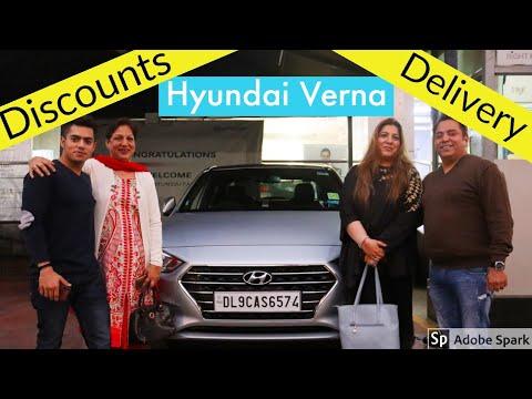 Delivery Of Hyundai Verna - Deal & Discounts In Delhi