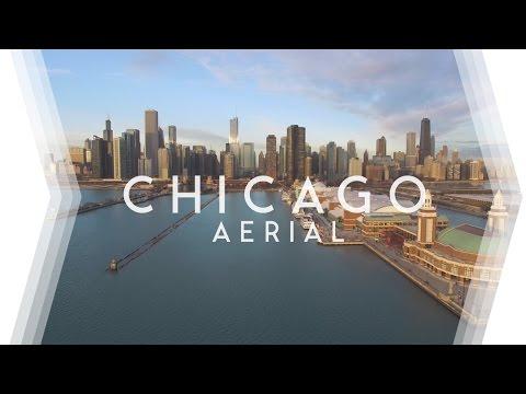 CHICAGO AERIAL I • 4K Aerial Videography •DJI Phantom 3 & GoPro Hero4 Silver