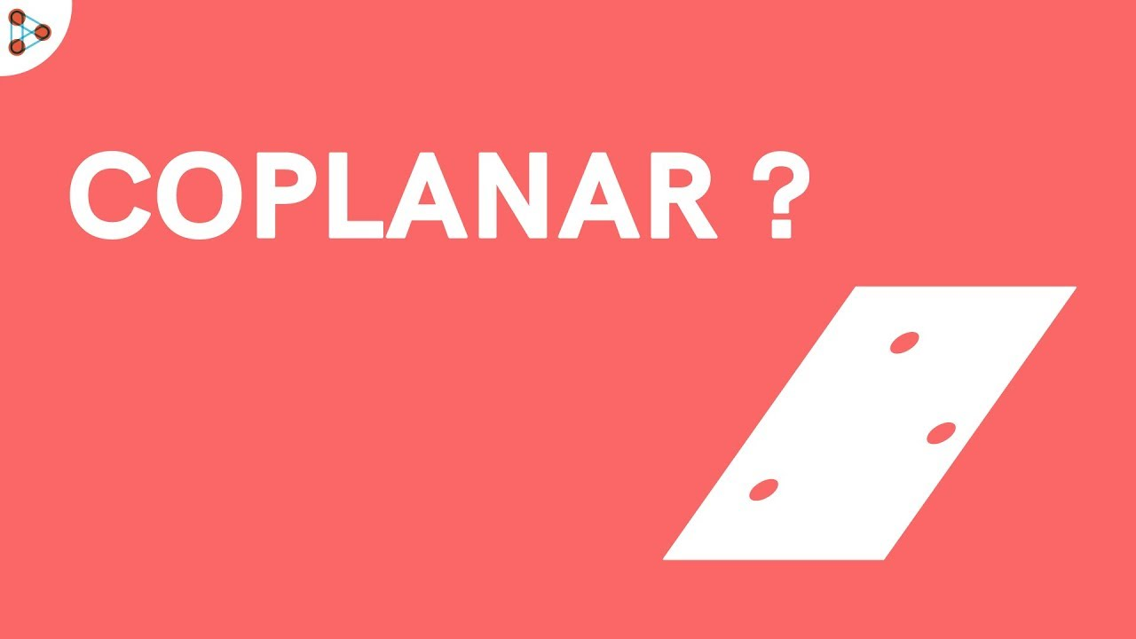What are Coplanar Points and Lines? - YouTube