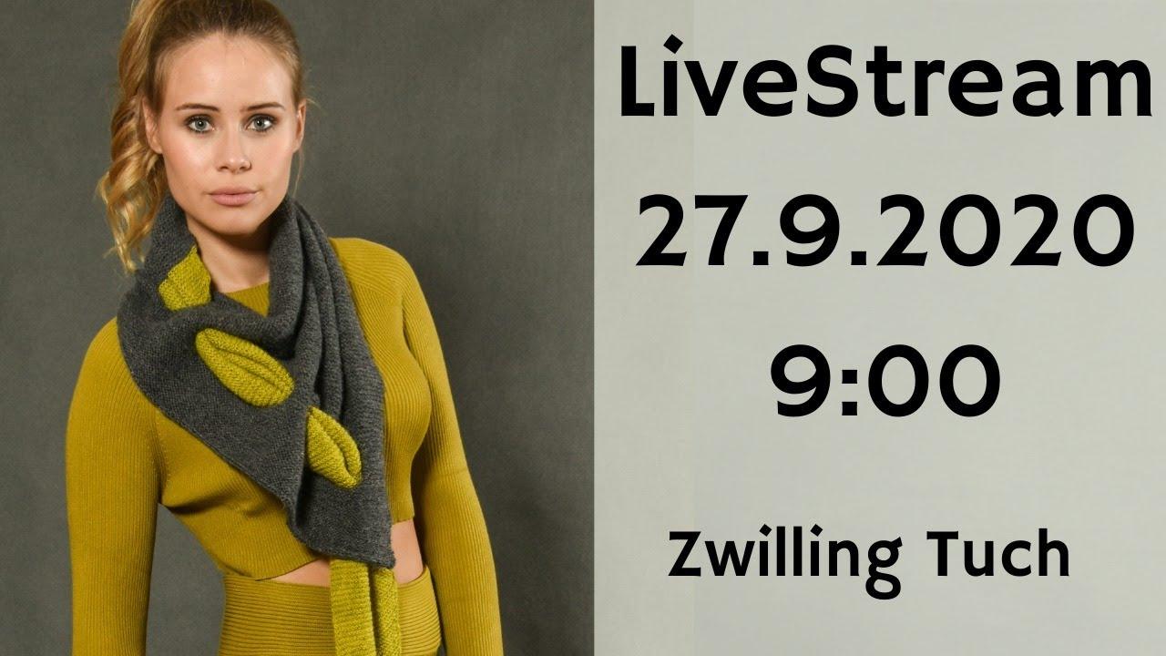 Livestream Jacke Alesha kürzen + Gewinnspiel Zwilling Tuch