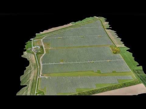 Solar Farm | 3D Drone Mapping | Geo-4D