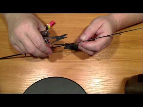 видео: Замена кольца на удилище