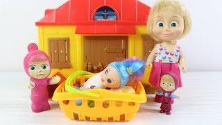 Mashanın Oyuncak Bebeği Kayboldu Maşanın Oyuncak Bebeği Nerede? Çizgi Filmler