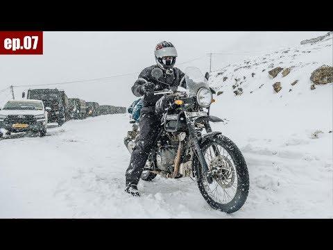 Dirang to Tawang | Sela Pass | 130kms Ride | Tour of North East ep.07