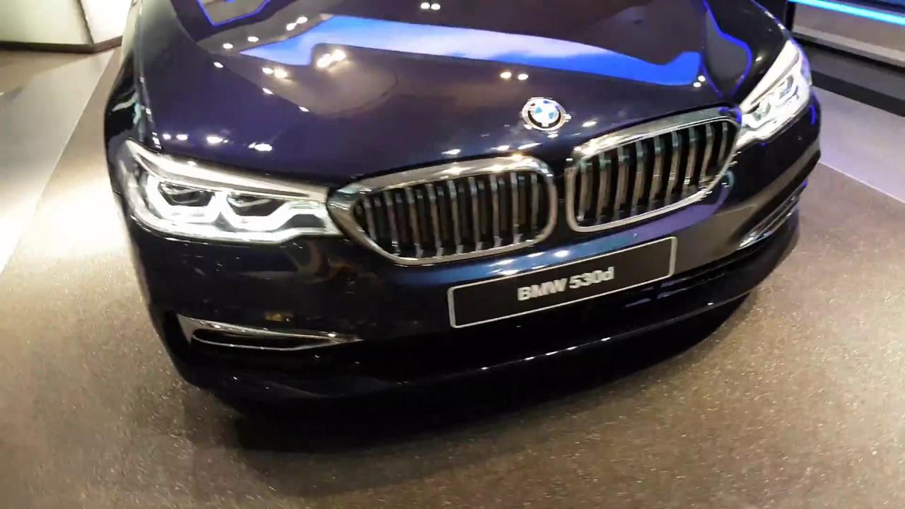 2017 BMW 5 Series Bmw Welt Premiere Fascinating Blue Colour