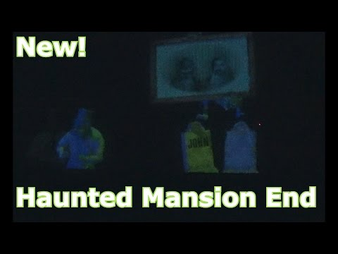 New Haunted Mansion Ending - Ghosts Show Your Name on Tombstone & More - Magic Kingdom