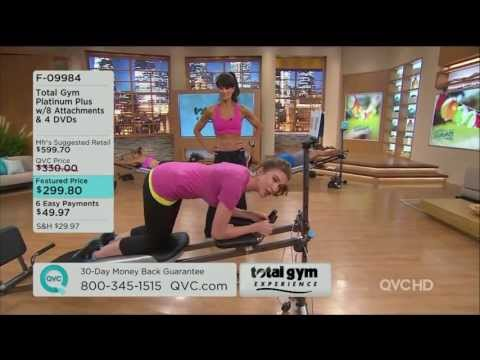 Pilates Reformer guide on QVC TV channel with Emma Newh