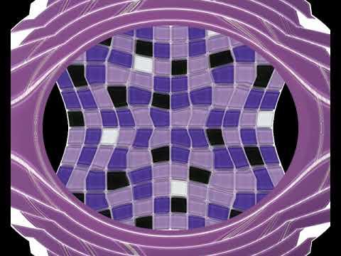Purple Lover Rainbow Crystile Glass Brick Pattern Mesh Mounted Mosaic Tile