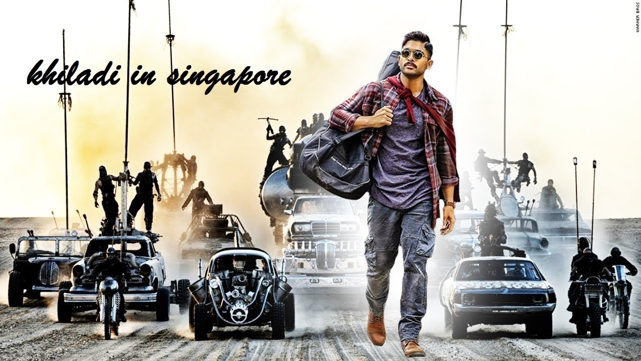 Download Khiladi in Singapore 2018 Hindi Dubbed Movie   South Indian Movies   Action Mo
