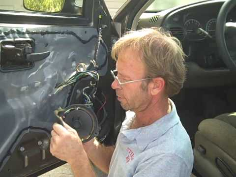 How to DIY Installing Aftermarket Car stereo Speakers install replace