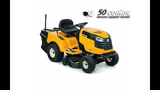 видео Садовый трактор Cub Cadet LT2 NR92 (новинка)