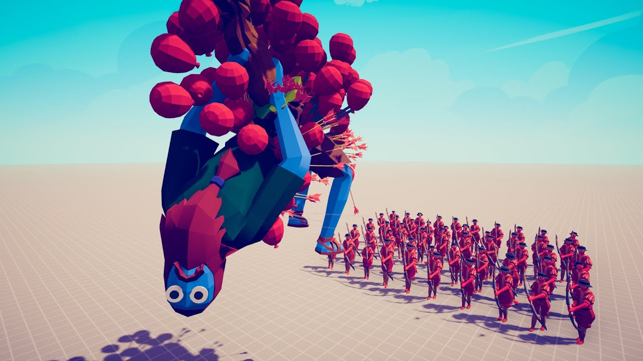 How Many Balloon Archers Are Needed to Lift Giants Into the Sky? ► TABS UNIT CREATOR UPDATE
