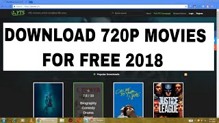 how to download movies for free 2018 working torrent sites