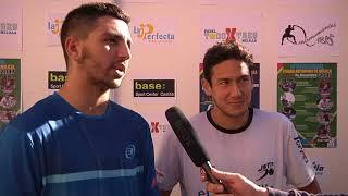 Balones Fuera - Jesús Moya y Uri Botello, campeones del Internacional de Pádel 2017