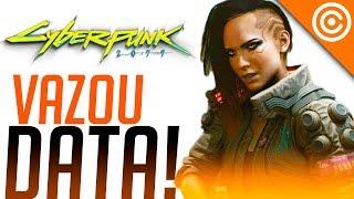 VAZA a DATA  de lançamento de Cyberpunk 2077...   E não é em 2077!
