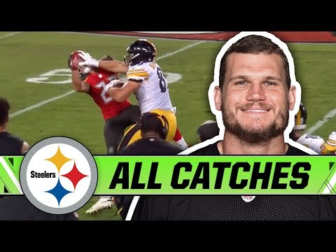 Vance McDonald punished defenses with his Stiff-arm | Pittsburgh Steelers