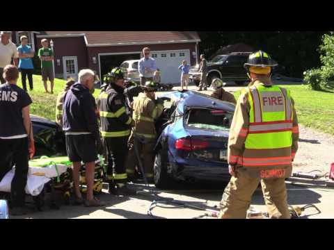 Litchfield RT 202 2 Car Injury Motor Vehicle Accident (IMVA)