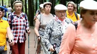 Скандинавская ходьба – массовое увлечение пенсионеров из Рузского округа