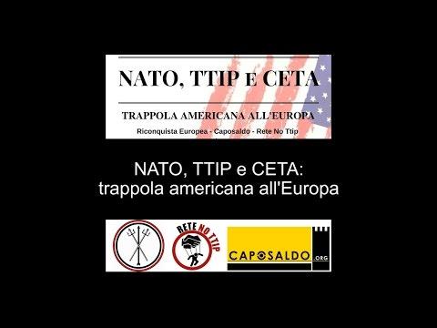 NATO, TTIP e CETA: trappola americana all'Europa
