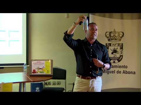 Juan Jose González Santiago, charla sobre deporte ayuntamiento san Miguel de abona Tenerife