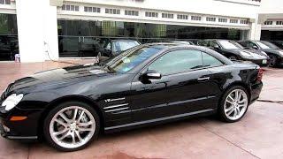 Тестируем автомобиль Mercedes AMG SL55 2004 года выпуска