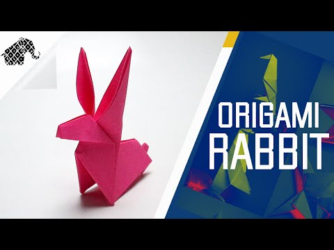Origami - How To Make An Origami Rabbit