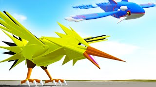 POKEMON IN 3D GAME! (Simple Planes)