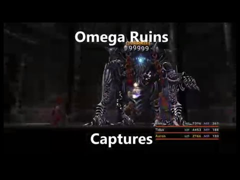 Final Fantasy X Fiend Capturing Episode 5:  Capturing In The Omega Ruins