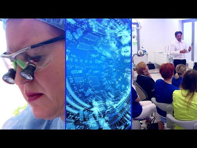 Practiculum Implantologii w trakcie szkolenia.