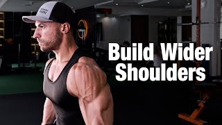 4 Exercises To Build Wider Shoulders
