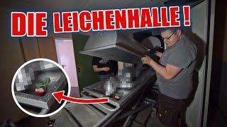 LOSTPLACE : SCHOCKMOMENT in der LEICHENHALLE 😱 - Das Altenheim | ItsMarvin